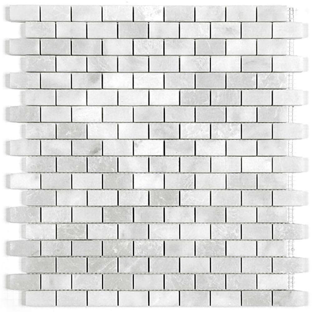 Brick Mosaic  Polished | GM.MIL.PRL.0,6X1,3