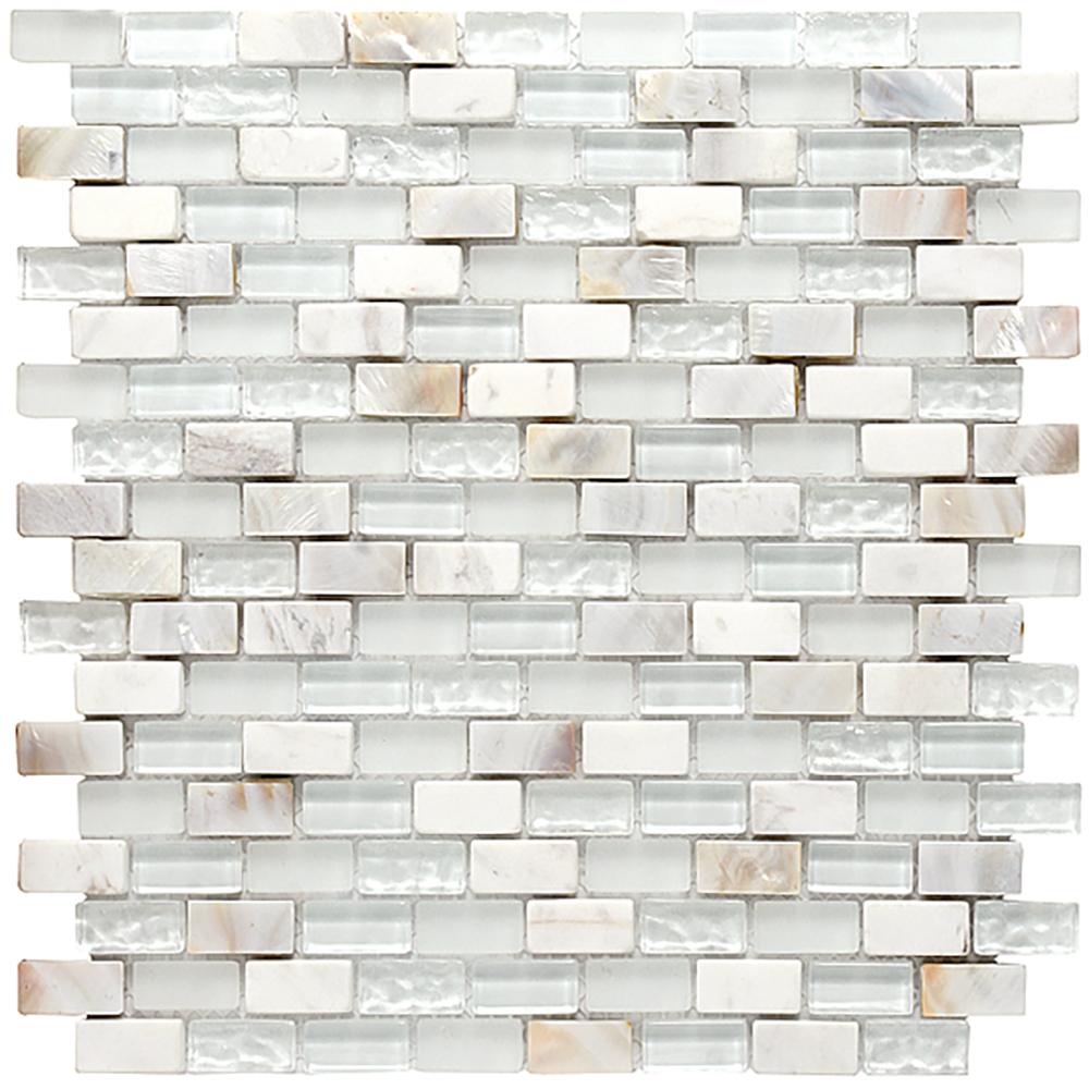 Tyrol Mosaic  Matte + Gloss | IO.TYROL.0,6X1,2.N