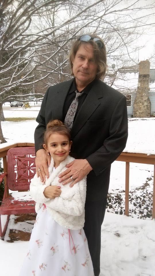 Taking the lessons he's learned from reckless youth, Raynard Packard (pictured with his daughter Magdalena) founded the Packard Institute, which has helped over 1,200 families without using any taxpayer money.