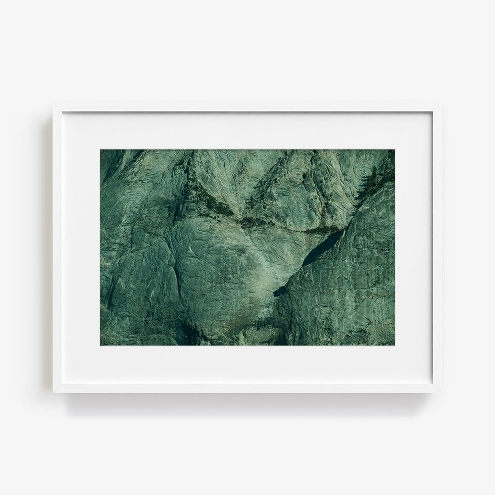 Marc Gabor   Half Dome  For this series of landscapes, Gabor focused on limiting his color palette and accentuating form and texture in these photographs.