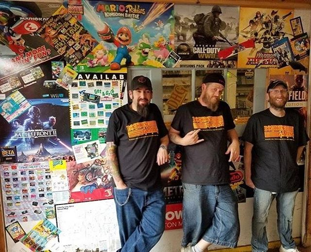 We love printing our customers passion! @doghousegaming wearing their new shirts! Go check out their page. #customprintit #printyourpassion