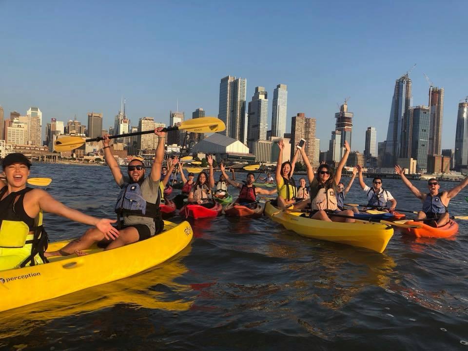 City Sunset Kayak Adventure 4/4