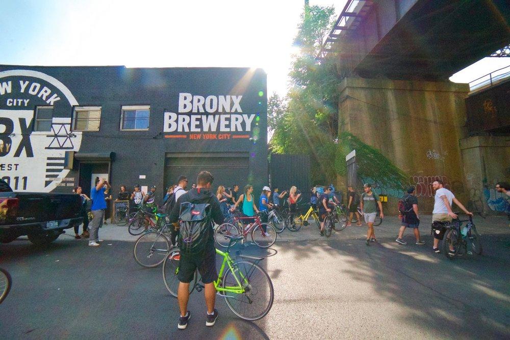 Bronx By Bike x Clif Bar 3/4