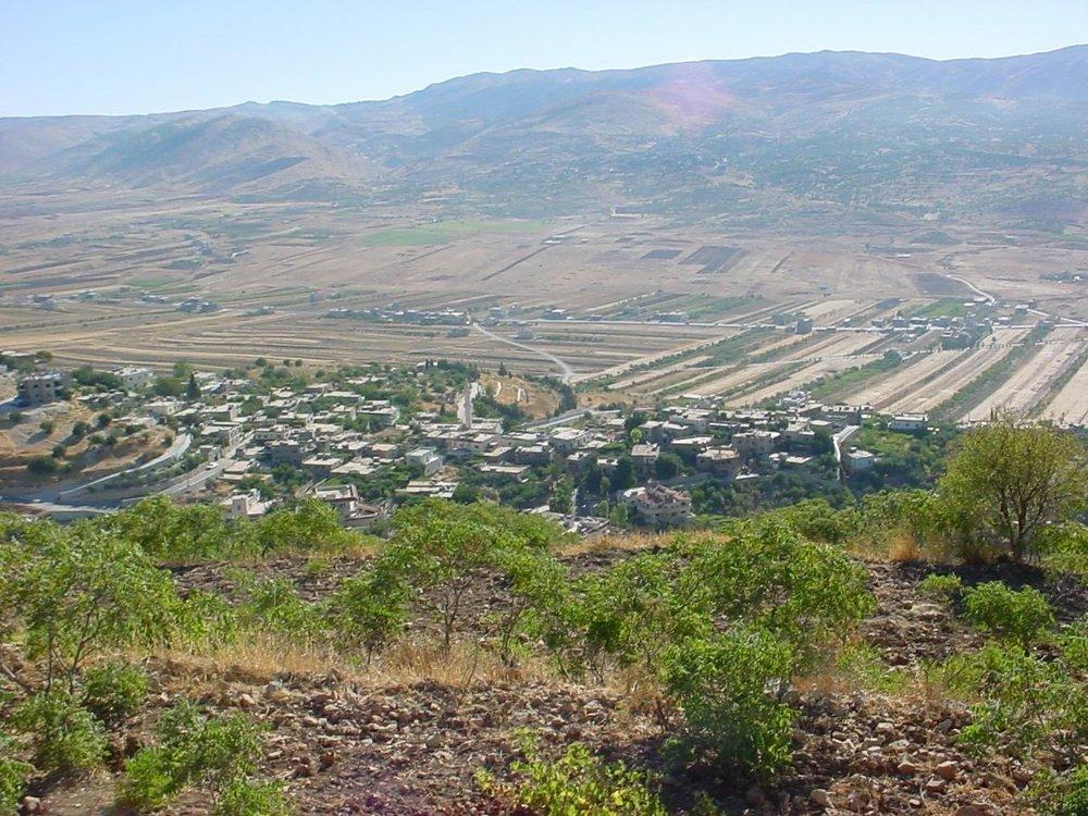 Lebanon's Bekkaa Valley