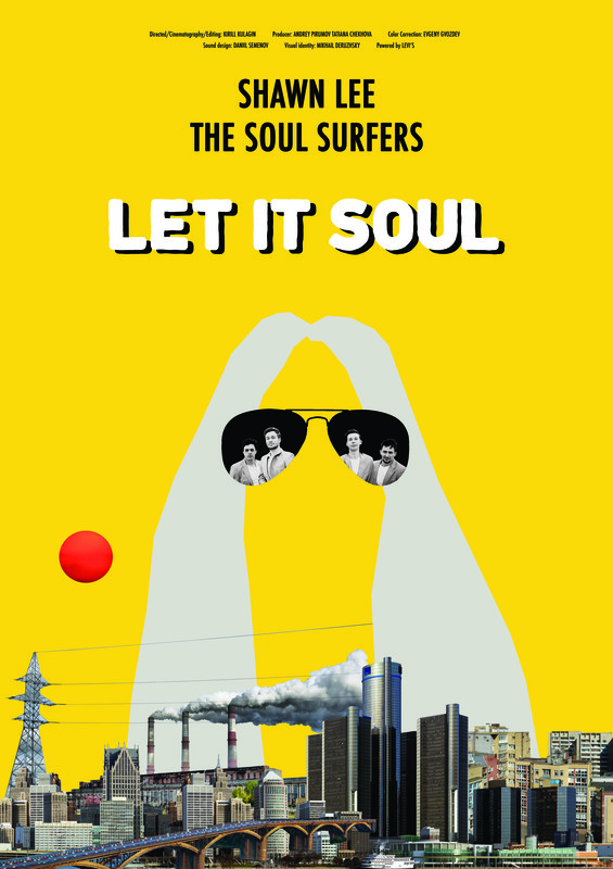let it soul - Twenty-years old musicians from Nizhny Novgorod, The Soul Sufferers suggest their idol Shawn Lee recording a joint disk. The Funk star suddenly agrees to arrive to Moscow. The musicians have only one night to compose and record a joint track. Shawn Lee and The Soul Sufferers meet at the abandoned factory in the room where old Soviet equipment has been miraculously saved. And they start working.