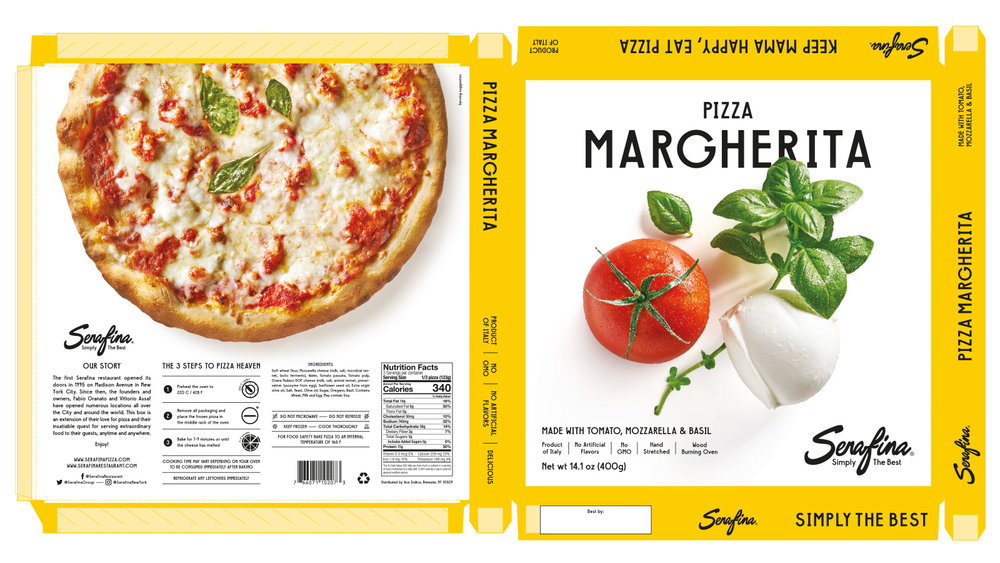 Made With Tomato, Mozzarella & Basil