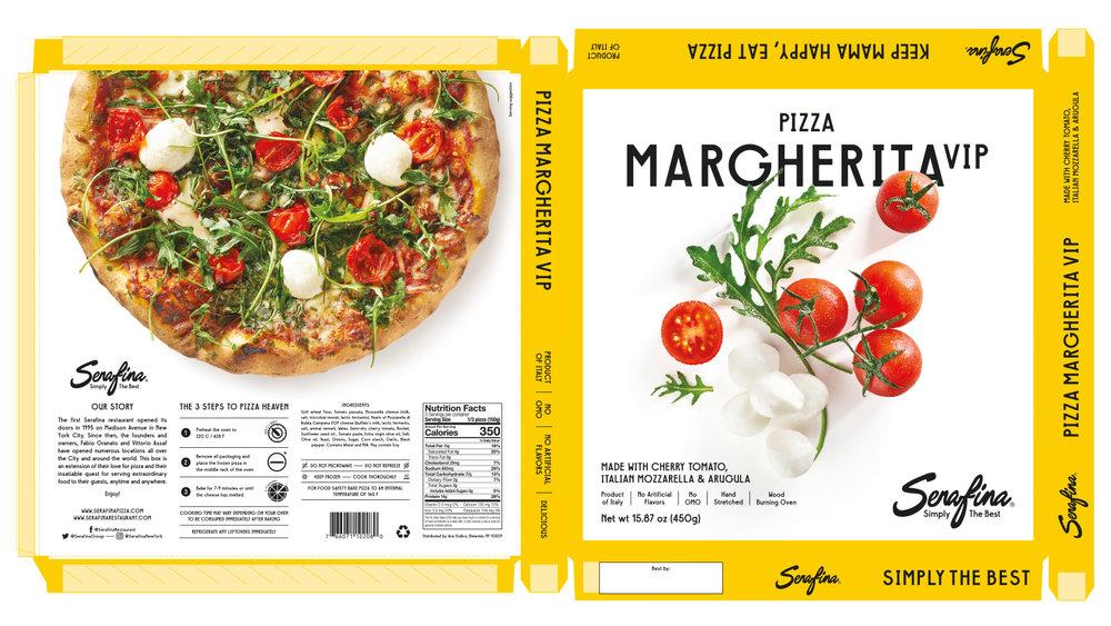Made With Cherry Tomato, Italian Mozzarella & Arugula