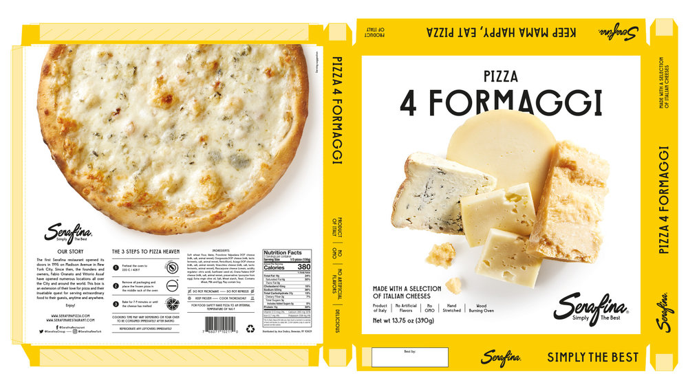 Made With a Selection of Italian Cheeses