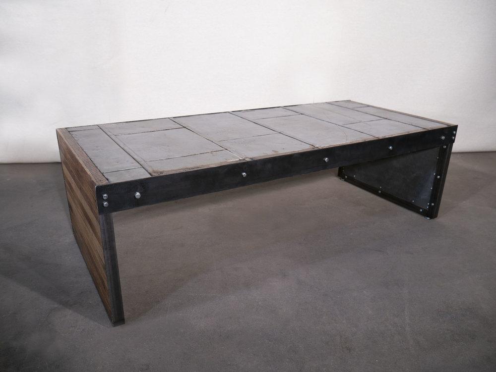 Antique Firedoor Coffee Table