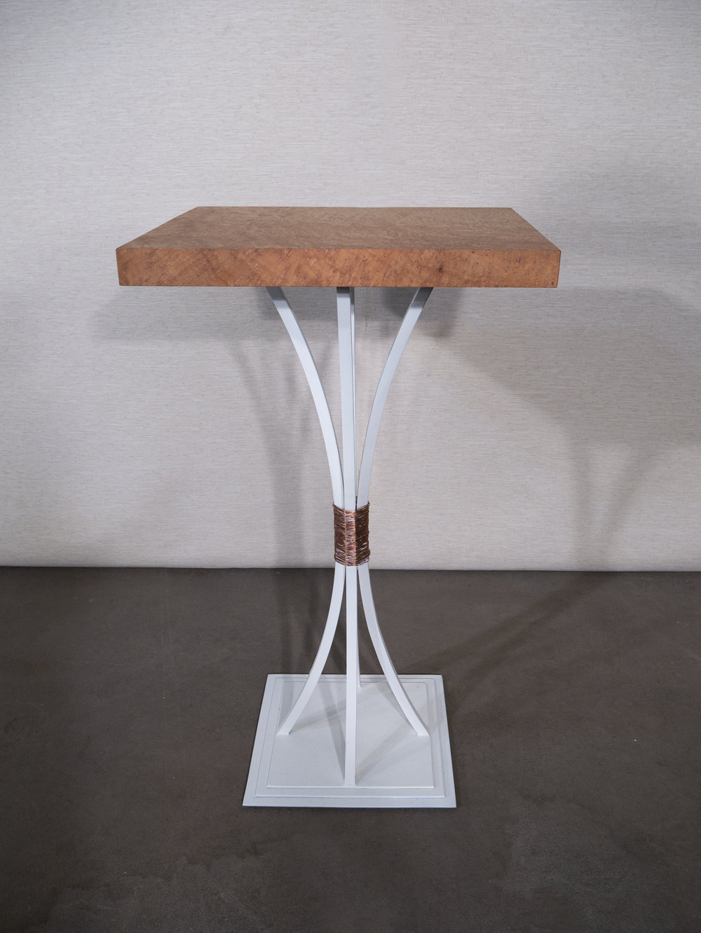 The Crescent End Table