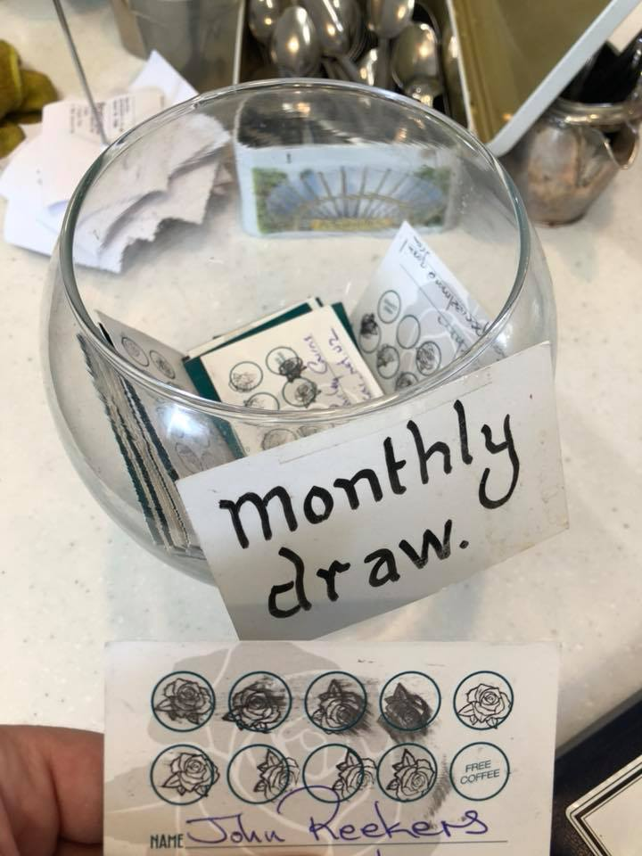 Our Amazing Monthly Draw Winners - Every month we would pick a lucky winner to win a spot prize, thank you to everyone who joined in!