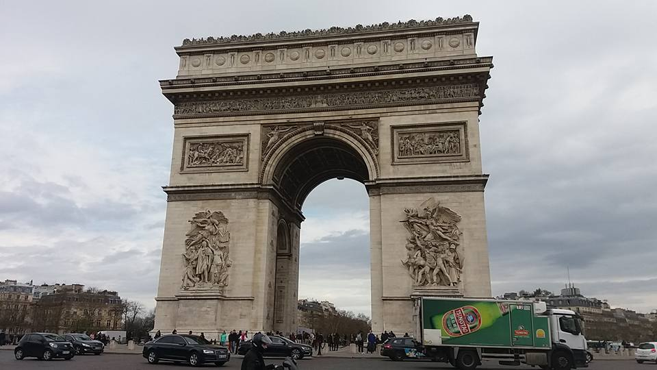 Our Web Designer In Paris! - Our web designer was in Paris and we were living through his Images and feedback of our inspirational city, it was definitely a highlight hearing all about it.