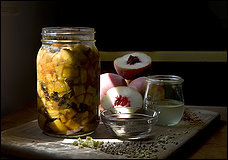 peach chutney from Wash Post article