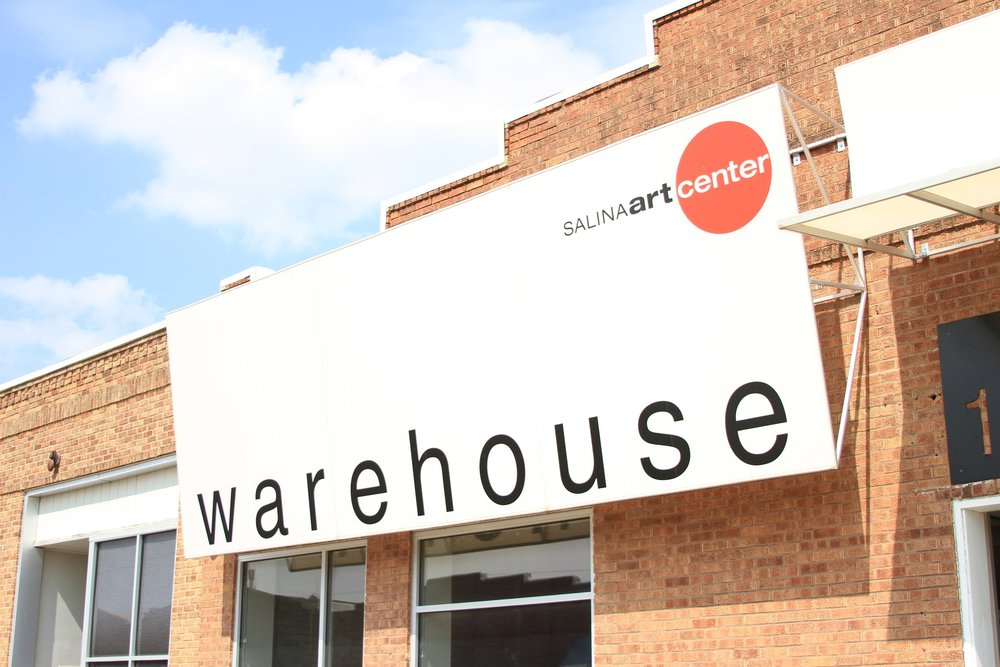 THE WAREHOUSE  ...is a 4,500 square feet living and working space for artists-in-residence.  open by appointment  149 S. 4th St.  Salina, KS 67401 hgreene@salinaartcenter.org