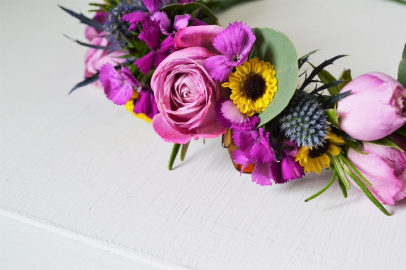 Want to make your own flower crown? - You can learn how here.