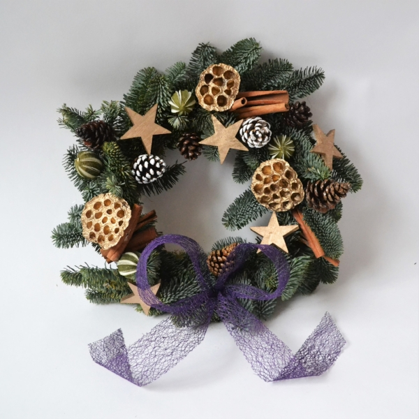 Click the image to shop this Christmas wreath on Etsy.