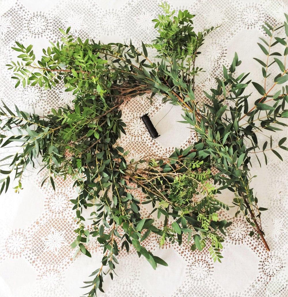 Webb-and-Farrer-Brighton-Florist-Sussex-Wedding-Flowers-How-to-make-a-foliage-wreath-DIY-tutorial (8).JPG