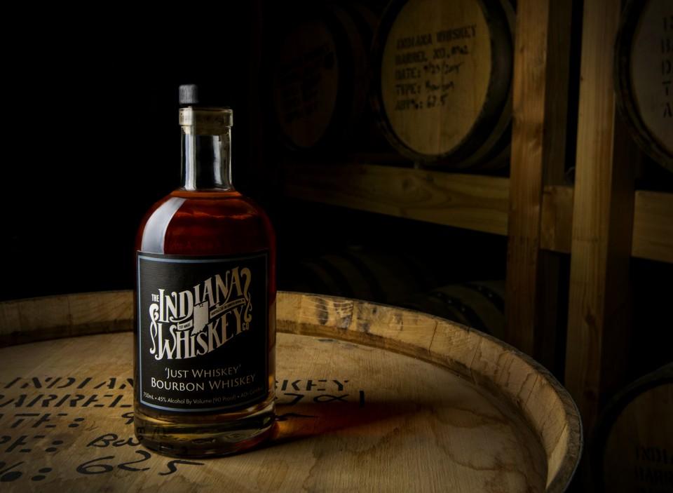 Indiana Whiskey with Barrels -Jason Senatore-Roberts, Ivy Tech