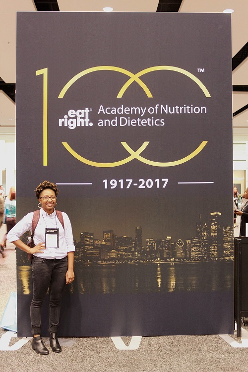 At my first FNCE in Chicago in 2017