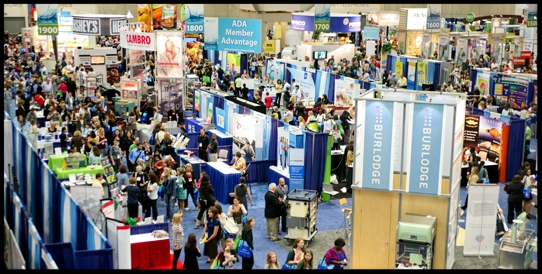 The expo floor can be overwhelming, but is you definitely don't want to miss it!