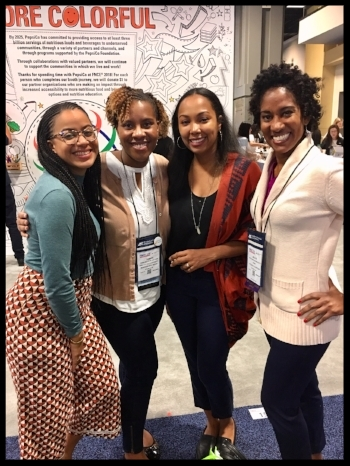 With Tamara of Diversify Dietetics and Wendy and Jess of Food Heaven Made Easy at the FNCE Expo 2018 in D.C.
