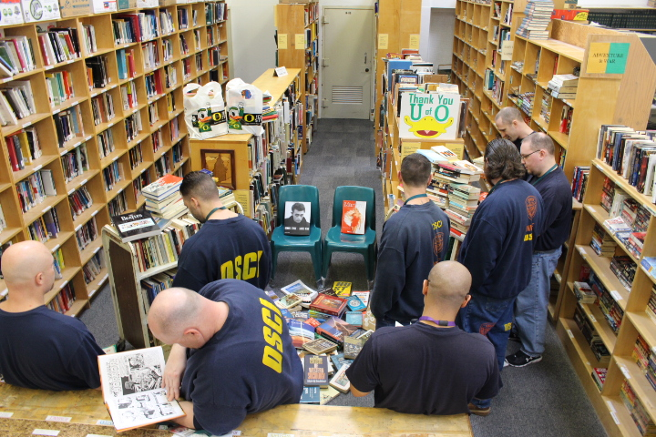 Book drive by the Prison Education Program