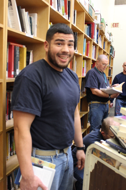 Book Donations from the UO Prison Education Program