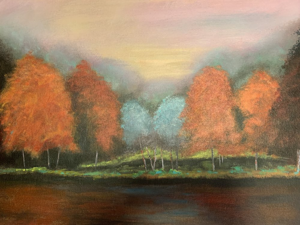 "Les, Autumn Forest - ""Inspired by the four seasons."""