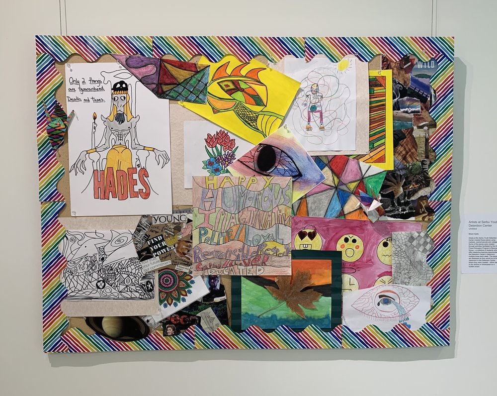 Artists at Serbu Youth Detention Center, Untitled -