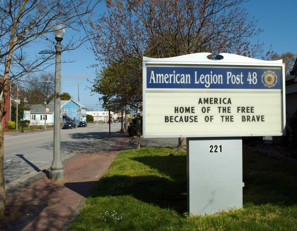American Legion - Historic, Military Community