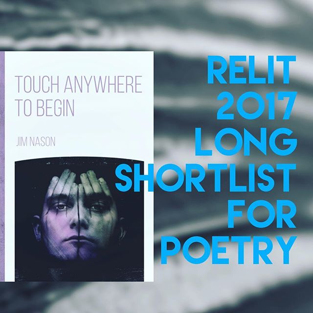 "Happy to learn that ""Touch Anywhere to Begin"" made the ReLit 2017 Long Shortlist for poetry! 🙌🏼 📝 ..... #canadianpoetry #poetsofinstagram"