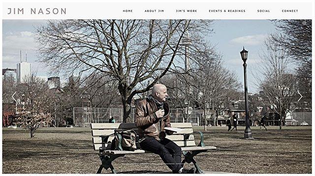 Fresh new website! 💻🙌🏼 www.jimnason.com Take a peek - link in bio.