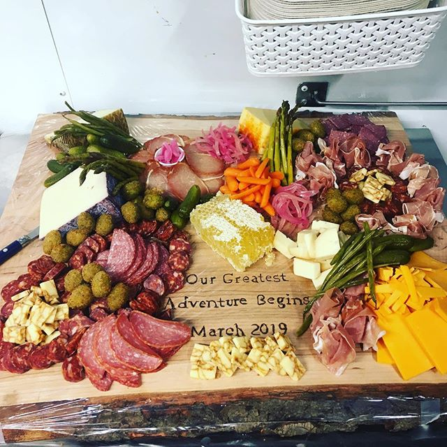 Our Charcuterie boards can be purchased in any denomination and size, with various components that can add to any event! Inquire about yours today!!