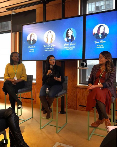 "Facebook-    ""Ask Her"" Panel Discussion     March 8, 2018  Successful female entrepreneurs share the amazing things they've learned when they've asked for advice and answer your burning questions."
