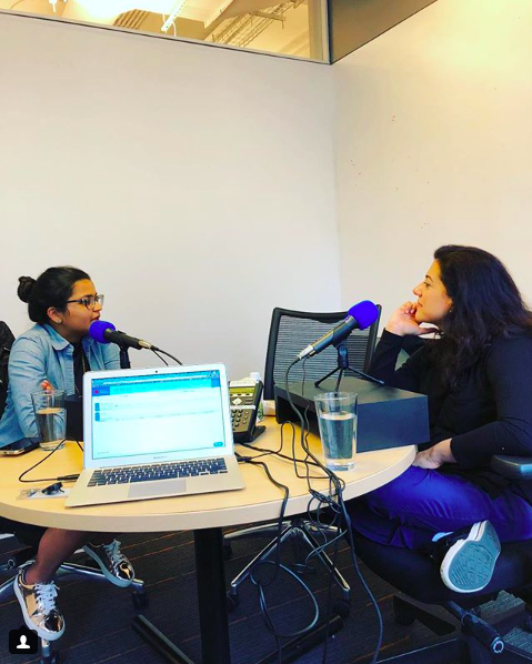 Brave Not Perfect    Podcast with Reshma Saujani   Episode Info  Starting a business and flying alone with her son for the first time - Deepti Sharma is exercising her bravery muscle in every aspect of her life. Tune into the Brave, Not Perfect Podcast to hear Reshma and Deepti talk about motherhood and the transition from politics to business. Follow Deepti's journey on Twitter at @deeptisharma1!