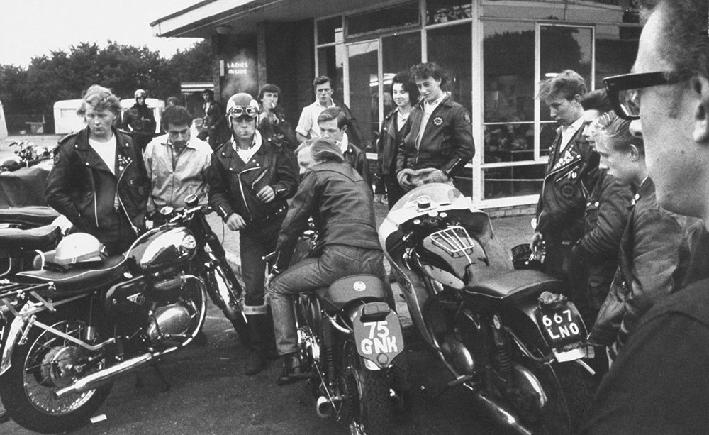 The Cafe Racer Style Was Favoured By 1960s British Rockers Famed For Beating Shit Out People And Wearing Leather
