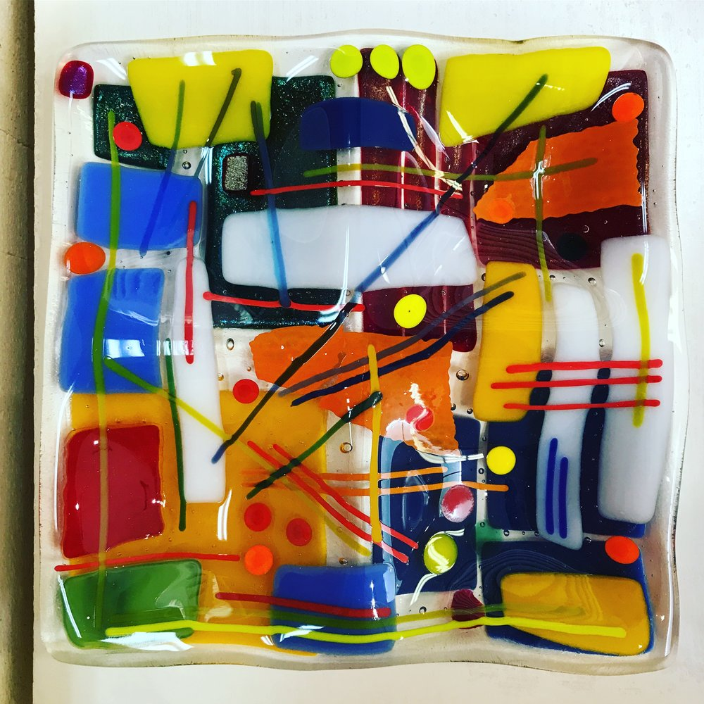 Fused Glass Art Camps - Famous Artists