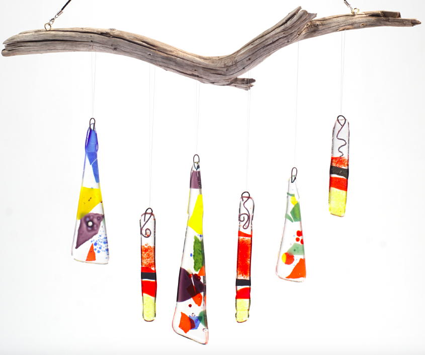 Fused Glass Art Camps - Wind Chimes