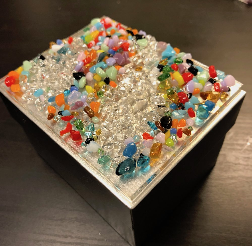 Fused Glass Art Camps - Exploring Texture