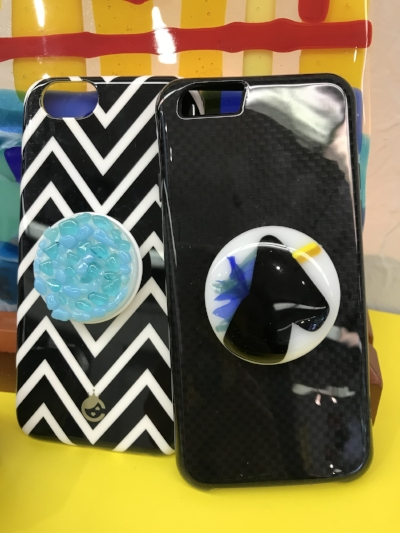 Pop Sockets are all the rage! Take the perfect selfie while showing off your personalized artwork.