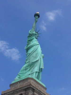 Statue of Liberty photo by Nina Fazzi