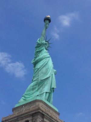 Statue of Liberty photo by Nina Fazzi