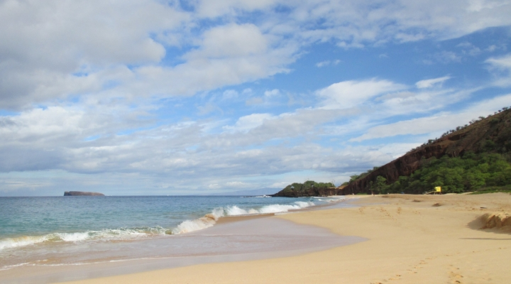 Makena Beach photo by Cindy Fazzi