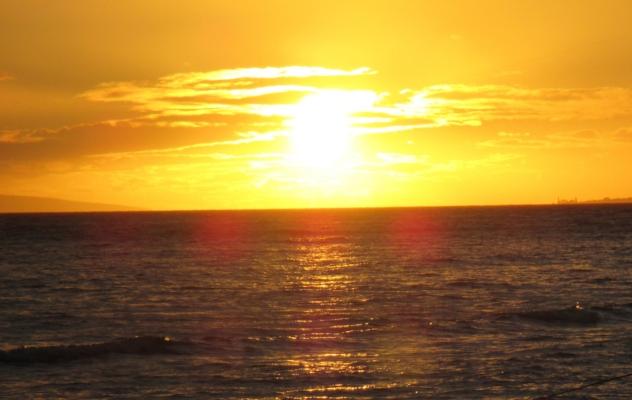 Maui Sunset photo by Cindy Fazzi