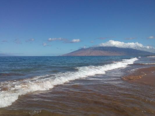 Maui Waves photo by Nina Fazzi