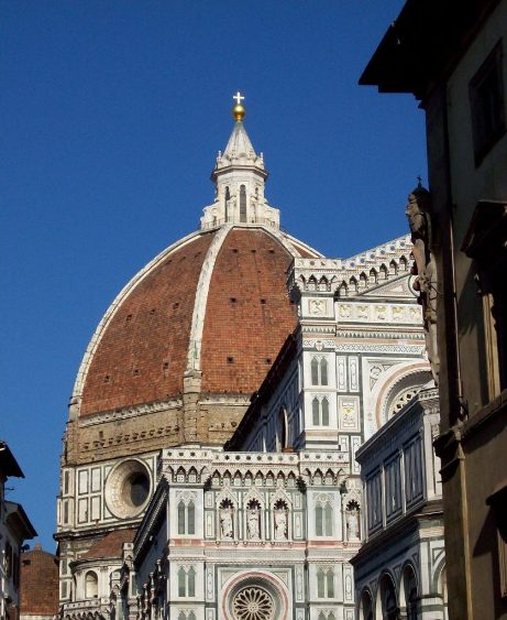 the duomo in florence, italy.