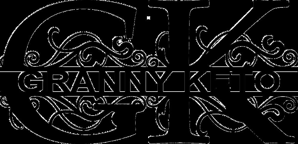 Granny Keto logo, GrannyKeto.com