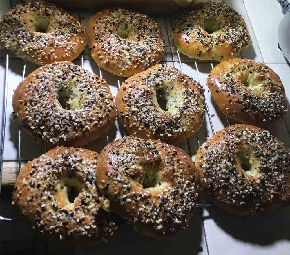 GrannyKeto.com Recipes: Keto Everything Bagels