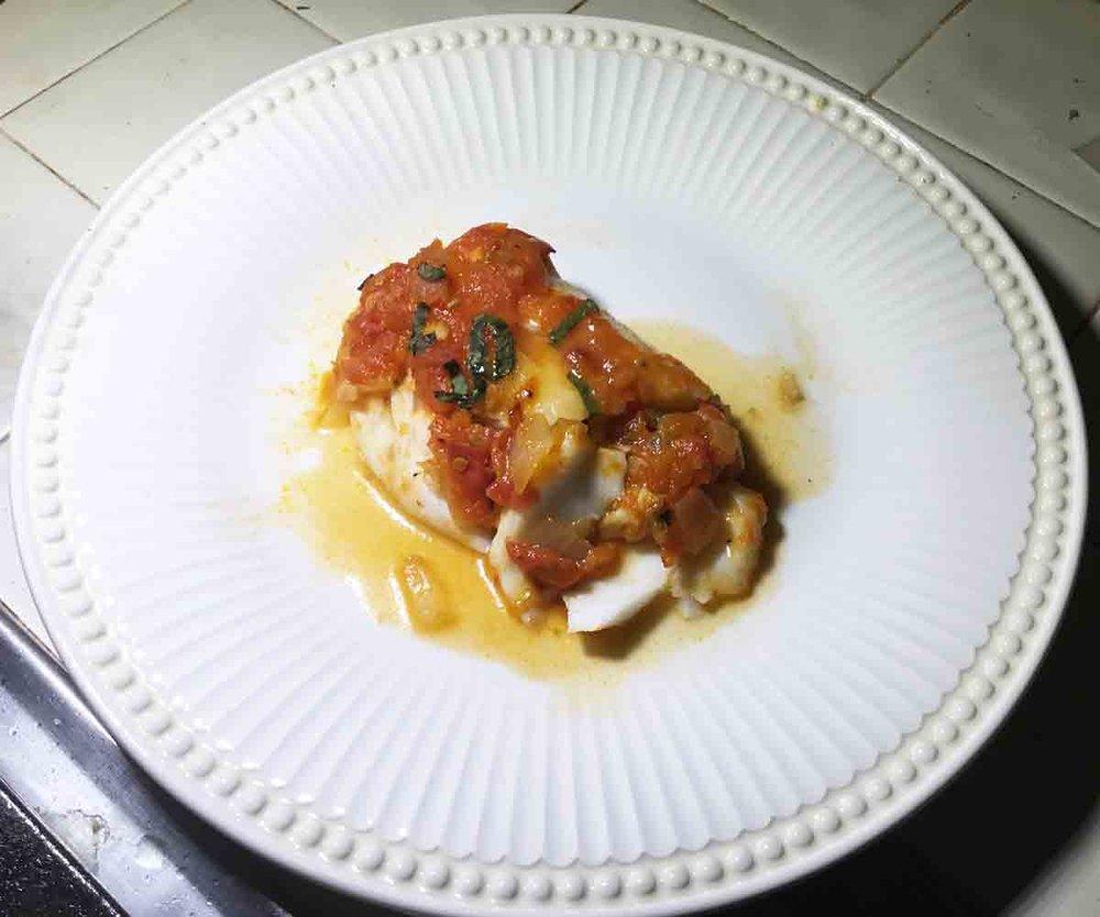 GrannyKeto.com Recipes: Fish Provençal