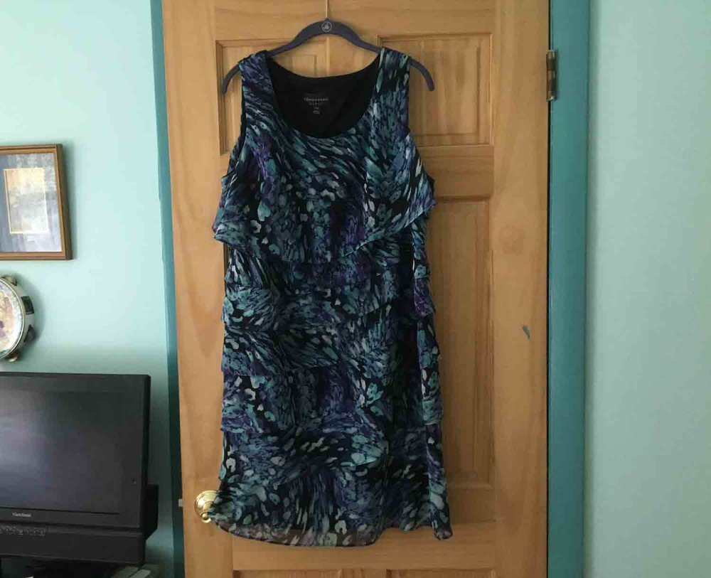 GrannyKeto.com blog: A do-nothing dress can come in handy for working at home